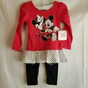 Disney Junior Minnie Mouse with Mickey  2-Piece